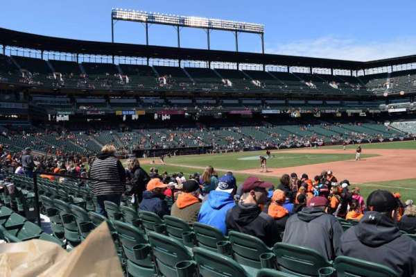Oriole Park at Camden Yards, section: 14, row: 13, seat: 9