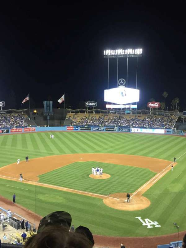 Dodger Stadium, section: 5RS, row: D, seat: 10