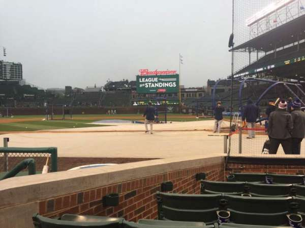 Wrigley Field, section: 14, row: 9, seat: 4