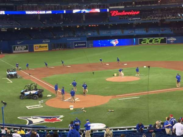 rogers centre, section: 121L, row: 7, seat: 107-110