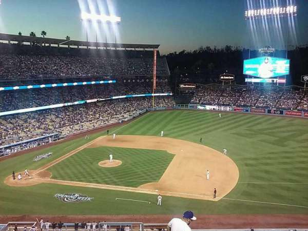 Dodger Stadium, section: 24RS, row: J, seat: 1