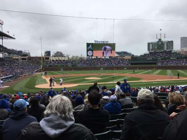 Wrigley Field, section: 121, row: 10, seat: 5
