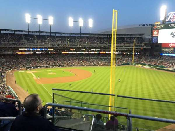 Comerica Park, section: 211, row: 7, seat: 1