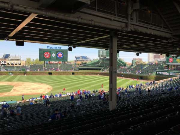 Wrigley Field, section: 225, row: 16, seat: 10