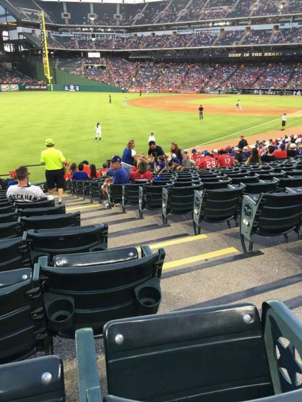 Globe Life Park in Arlington, section: 11, row: 21, seat: 16