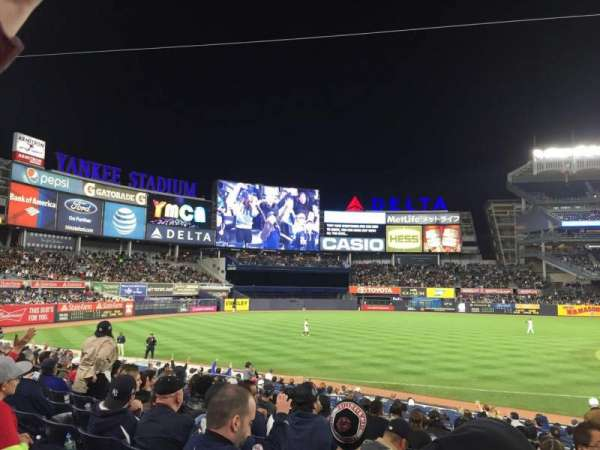 Yankee Stadium, section: 127b, row: 9, seat: 4