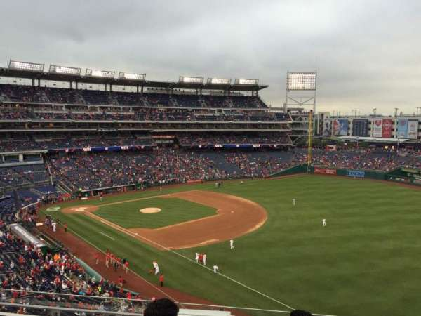 Nationals Park, section: 226, row: G, seat: 7