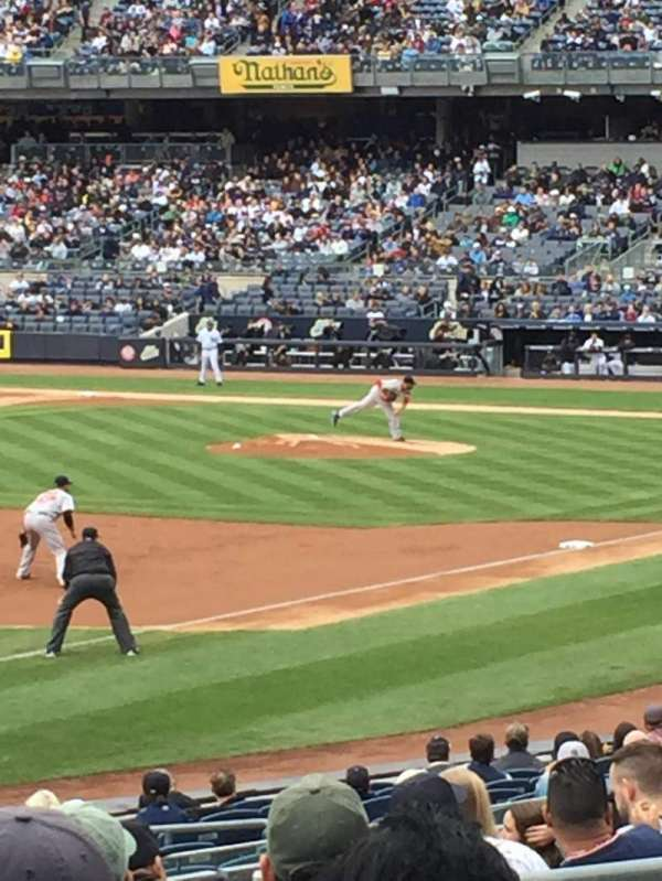Yankee Stadium, section: 129, row: 24, seat: 10