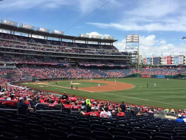 Nationals Park, section: 134, row: SS, seat: 21