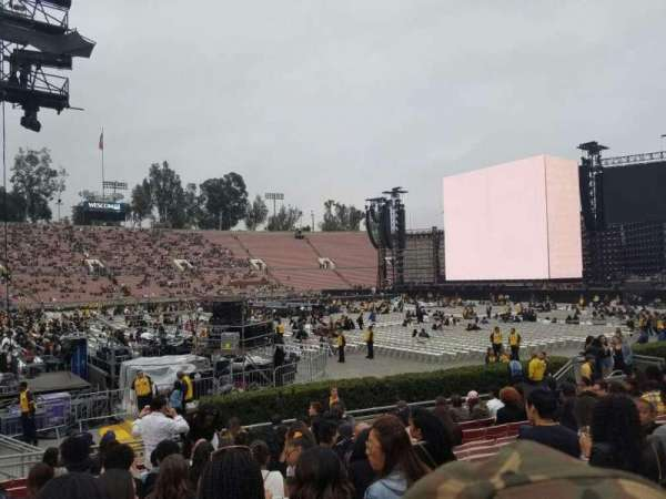 Rose Bowl, section: 16-H, row: 11, seat: 108