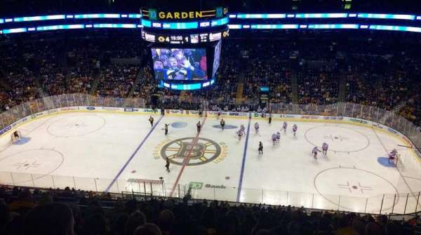 TD Garden, section: Bal 315, row: 15, seat: 16