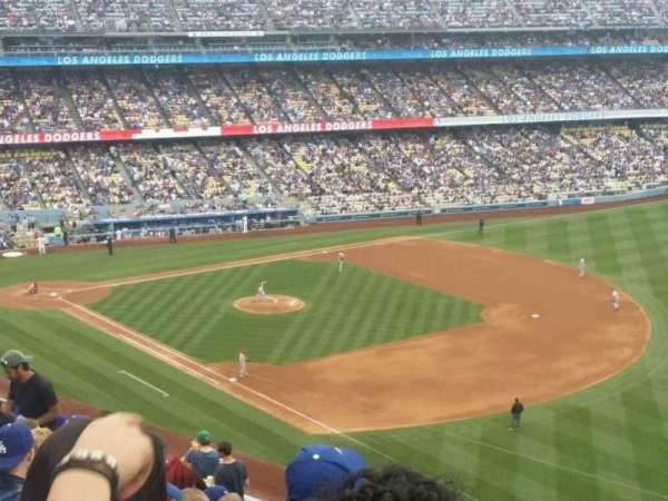 Dodger Stadium, section: 40RS, row: S, seat: 21
