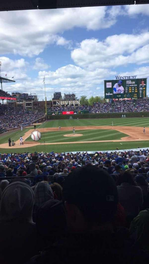 Wrigley Field, section: 222, row: 9, seat: 14