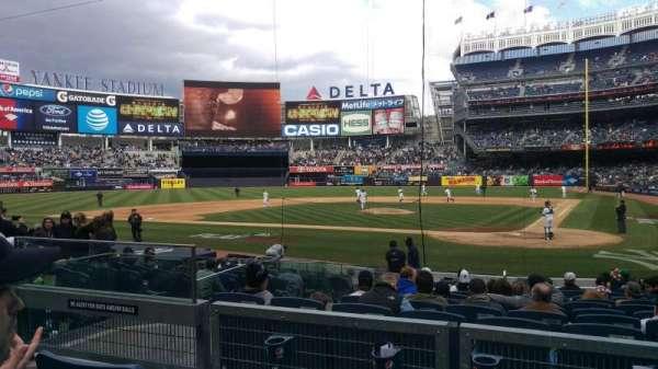 Yankee Stadium, section: 121b, row: 3, seat: 8