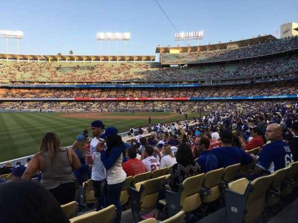 Dodger Stadium, section: 49FD, row: R, seat: 3