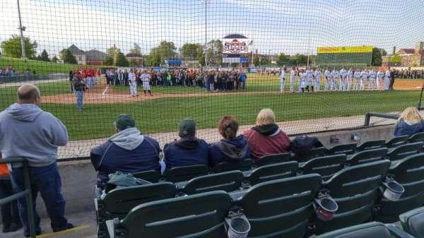 Joliet Route 66 Stadium, section: 107, row: E, seat: 10