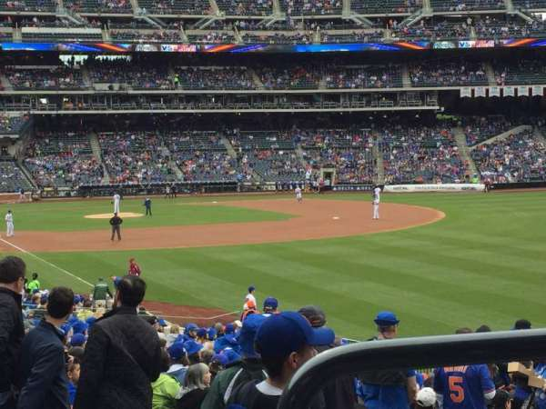 Citi Field, section: 105, row: 26, seat: 6