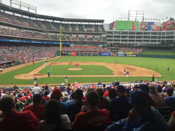 Globe Life Park in Arlington, section: 32, row: 32, seat: 2