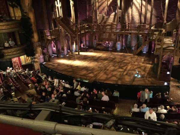 Richard Rodgers Theatre, section: Front Mezzanine R, row: A, seat: 8
