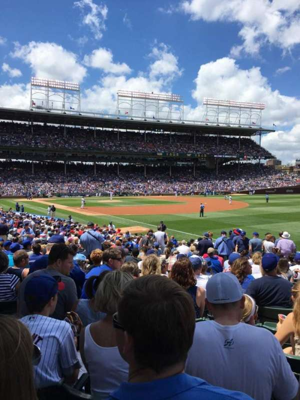 Wrigley Field, section: 138, row: 13, seat: 7