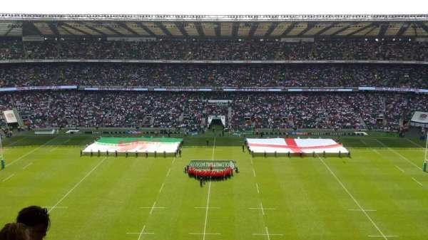 Twickenham Stadium, section: U33, row: M, seat: 239