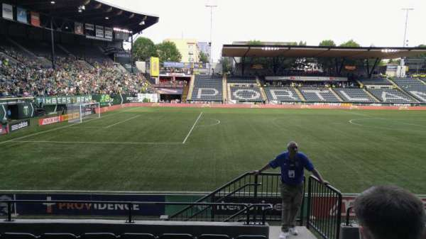 Providence Park, section: 115, row: G, seat: 17