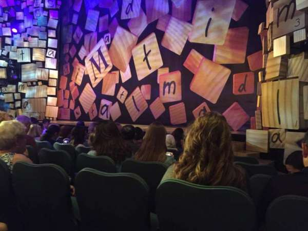 Shubert Theatre, section: Orchestra R, row: F, seat: 12