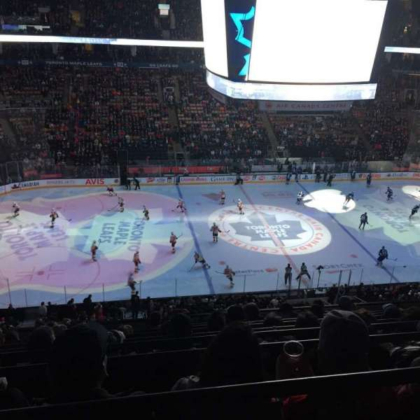 Scotiabank Arena, section: 310, row: 9, seat: 15
