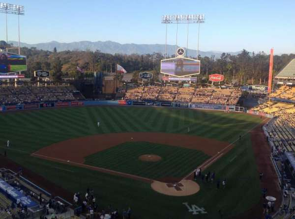 Dodger Stadium, section: 5RS, row: J, seat: 11
