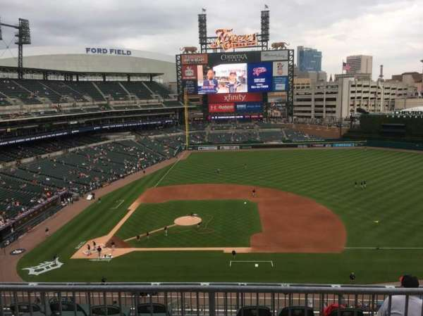 Comerica Park, section: 323, row: A, seat: 9