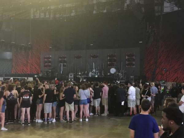 Allstate Arena, section: 111, row: AA, seat: 1-4