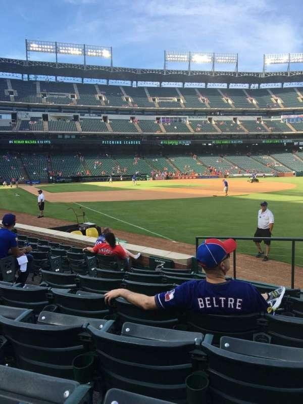 Globe Life Park in Arlington, section: 39, row: 8, seat: 5-8