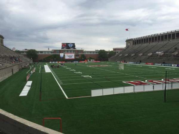 Harvard Stadium, section: 23, row: P, seat: 4