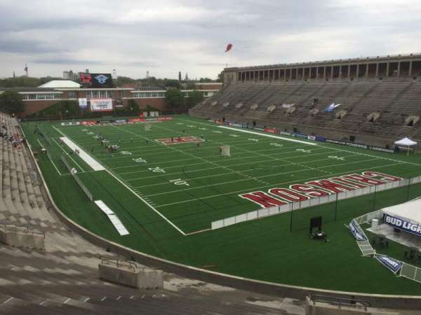 Harvard Stadium, section: 23, row: NN, seat: 4