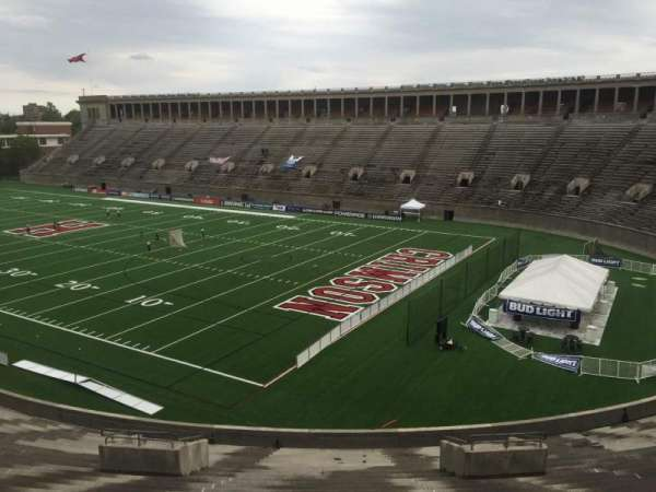 Harvard Stadium, section: 23, row: NN, seat: 12