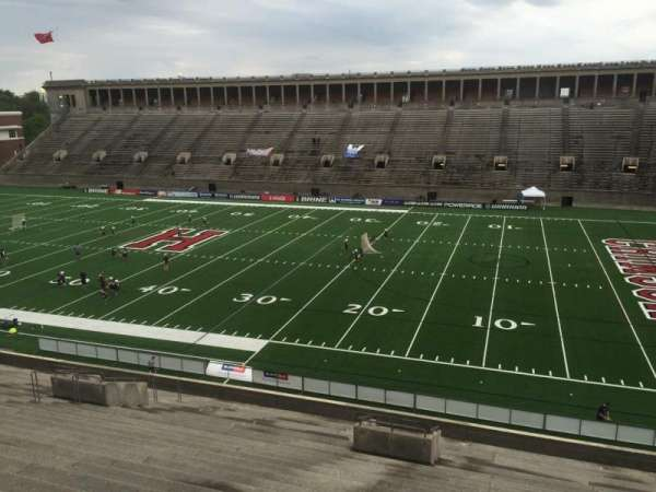 Harvard Stadium, section: 27, row: OO, seat: 16