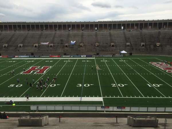 Harvard Stadium, section: 29, row: MM, seat: 10