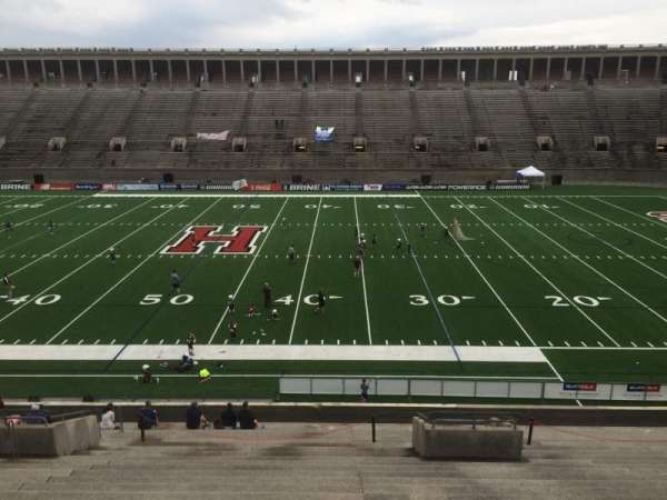 Harvard Stadium, section: 30, row: LL, seat: 6
