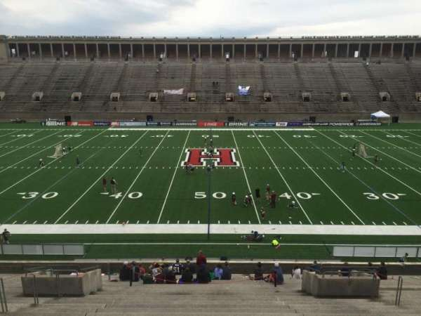 Harvard Stadium, section: 31, row: LL, seat: 10