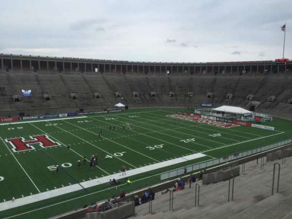 Harvard Stadium, section: 32, row: LL, seat: 14
