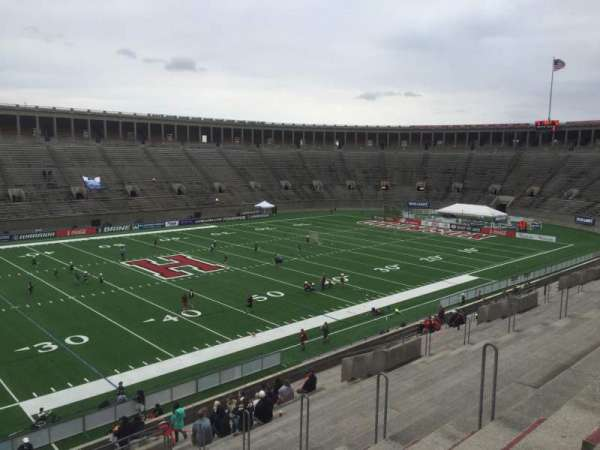 Harvard Stadium, section: 34, row: KK, seat: 10