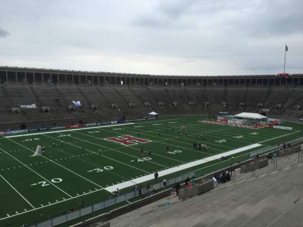 Harvard Stadium, section: 35, row: MM, seat: 14