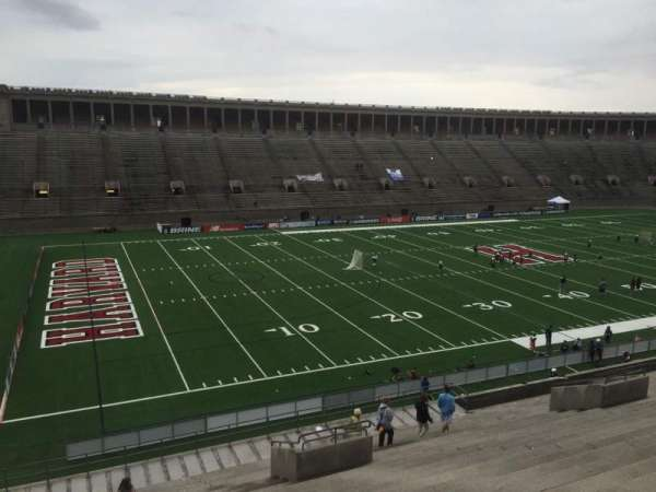 Harvard Stadium, section: 36, row: MM, seat: 12
