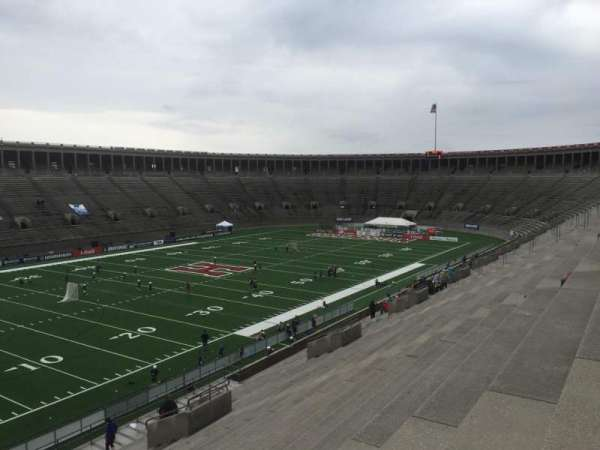 Harvard Stadium, section: 37, row: MM, seat: 4