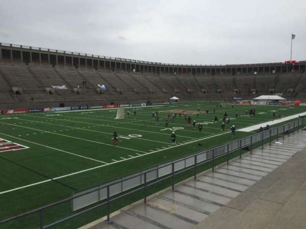Harvard Stadium, section: 37, row: D, seat: 6