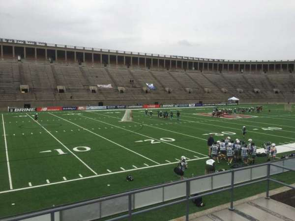 Harvard Stadium, section: 35, row: C, seat: 14