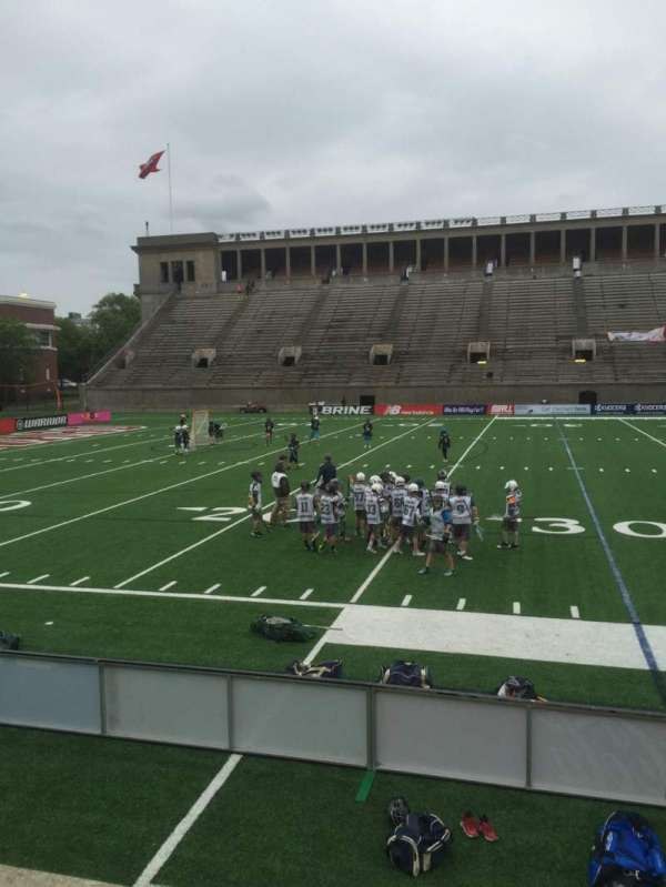 Harvard Stadium, section: 33, row: N, seat: 12