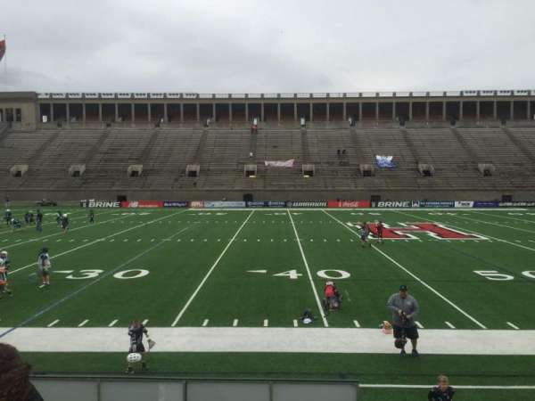 Harvard Stadium, section: 32, row: O, seat: 12