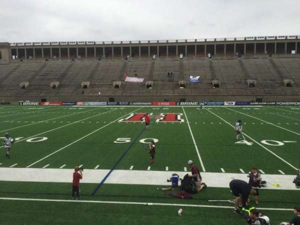Harvard Stadium, section: 31, row: N, seat: 4