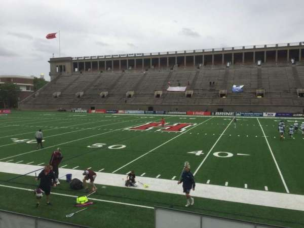 Harvard Stadium, section: 30, row: O, seat: 6